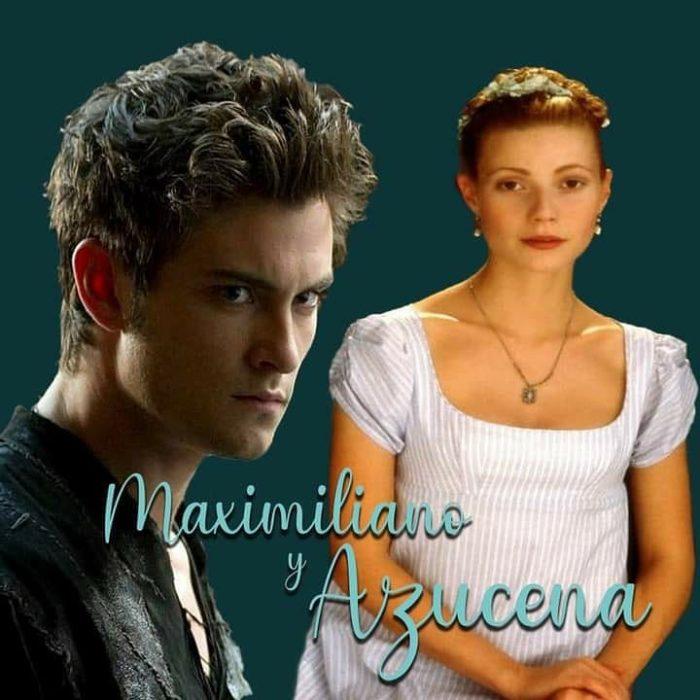 Maximiliano y Azucena (Novios Furtivos) de Vanny Ferrufino